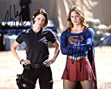 Melissa Benoist / Chyler Leigh SUPERGIRL In Person Autographed Photo