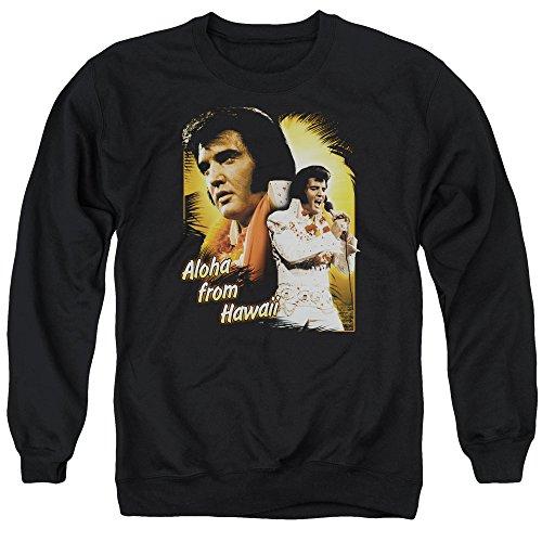 Elvis Presley - Aloha from Hawaii - Adult Crewneck Sweatshirt - XL