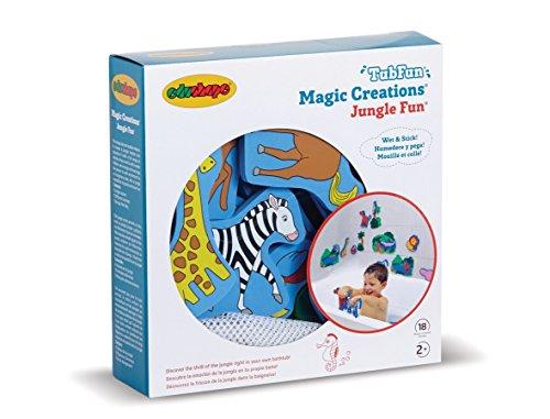 Hippo Bath Set (Edushape Magic Creations Bath Playset - Jungle)