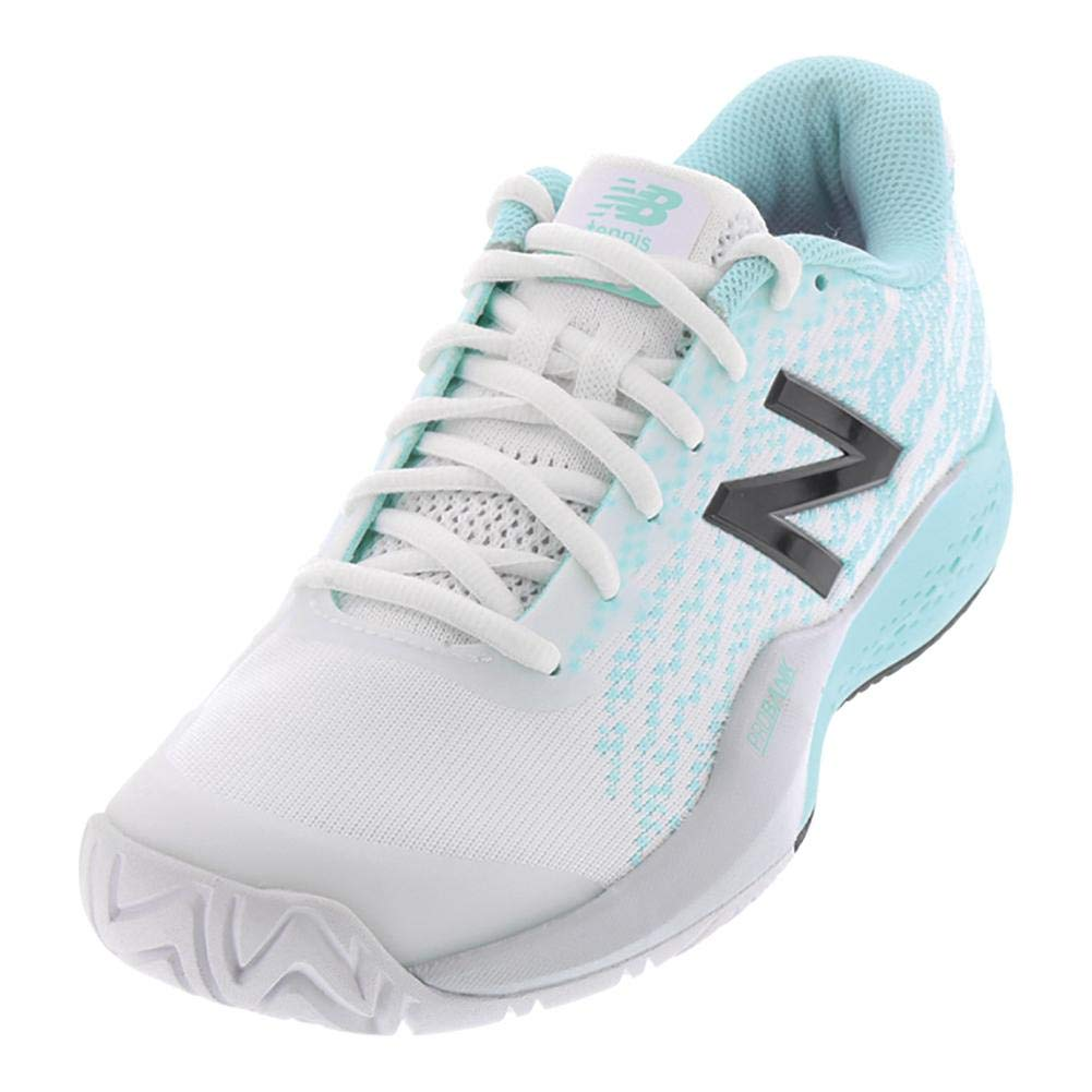 Weiß Light Reef New Balance WC996 B Damen Laufschuhe