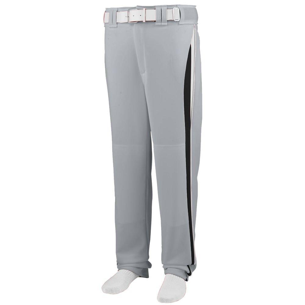 Augusta Sportswearメンズラインドライブ野球パンツ B00HJTN7SC Small|Silver Grey/Black/White Silver Grey/Black/White Small