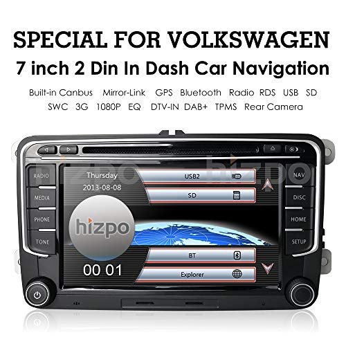 """7"""" TV Monitor HD Touchscreen Auto Car DVD Player GPS for sale  Delivered anywhere in USA"""
