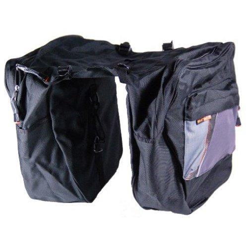 - Sunlite Traveler 1 Bicycle Saddlebag Style Pannier Bag