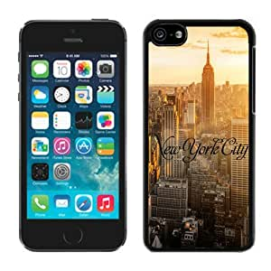 New York City Apple Iphone 5C Case Black Cover