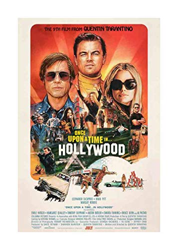 Once Upon A Time in Hollywood - Movie Poster - Size 24