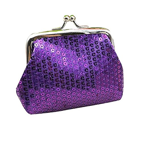 Coin Womens Sequin Clearance Clutch Wallet Wallet Retro Purse Noopvan Wallet Handbag Purple Small Ladies 2018 8awn4qA