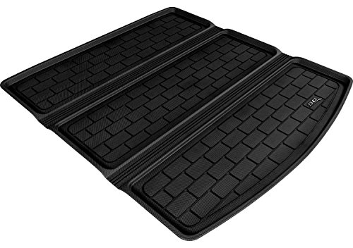 (3D MAXpider Custom Fit All-Weather Cargo Liner for Select Audi A4/S4/RS4 Sedan Models - Kagu Rubber (Black))