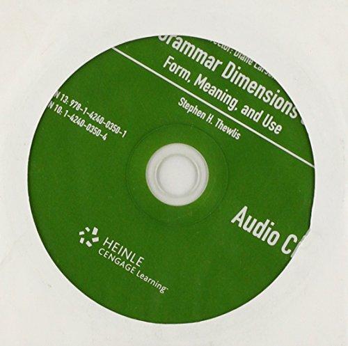 Grammar Dimensions 3: Audio CD (Bk. 3)