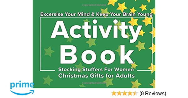 Stocking Stuffers for Women: Christmas Gifts for Adults: Activity ...