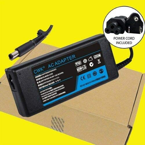 AC Adapter Battery Charger Compatible with HP Pavilion dv6-1280us dv6-1360us dv6-1361sb Laptop