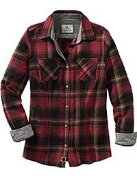 Women's Cottage Escape Long Sleeve Button Up Flannel Shirt