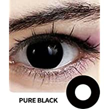 Mult-icolor Cosplay Eyes Cute Colored Charm and Attractive Fashion Contact Lenses Color Blends Cosmetic Makeup Eye Shadow (A Pair) (Pattern7)