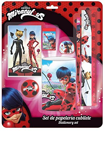 Ladybug Marinette Set complet d'écriture et de papeterie (officiel) 311712796