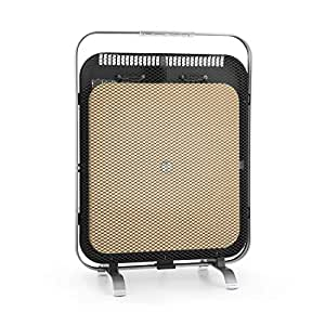 Klarstein HeatPal Marble Blackline radiador infrarrojo • Radiador portátil • Radiador Vertical • 1300 W •