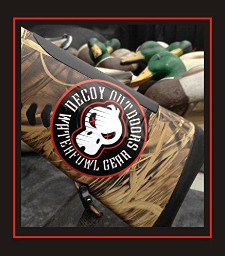 r Skull Logo - Duck Hunting Sticker Decal ()