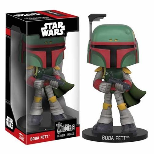 Star Wars Boba Fett Bobble Head by - Fett Head Star Wars