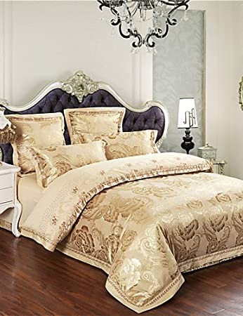 bettw sche gold m belideen. Black Bedroom Furniture Sets. Home Design Ideas