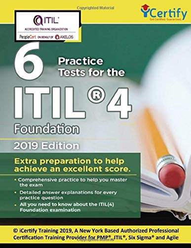 ITIL® 4 Foundation Practice tests: Get certified