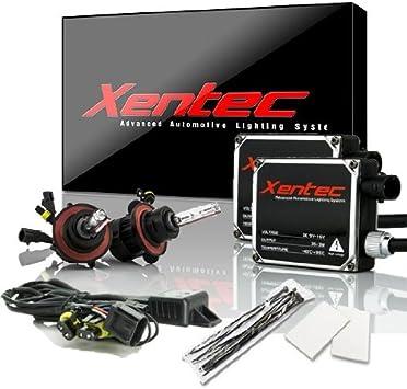 Lightning Blue HB2 Xentec Xenon bulb H4 Hi//lo Telescopic bixenon 8000K x 1 pair bundle with 2 x 35W Digital Ballast