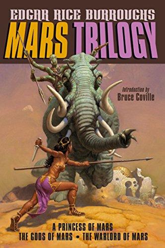 Amazon Mars Trilogy A Princess Of Mars The Gods Of Mars The