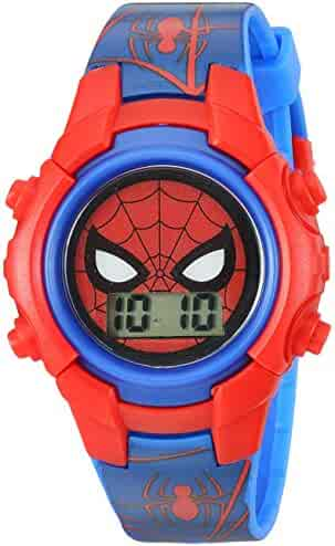 Marvel Boy's Quartz Plastic Casual Watch, Color:Blue (Model: SPD4516)