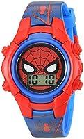 Marvel Boy's Quartz Plastic Casual Watch, Color:Blue (Model: SPD4516)