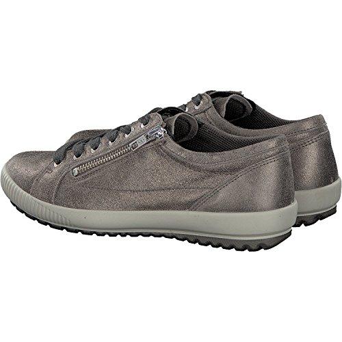 de cuero para Gris Superfit de cordones Zapatos 1 00818 repujado 96 mujer qP0zI
