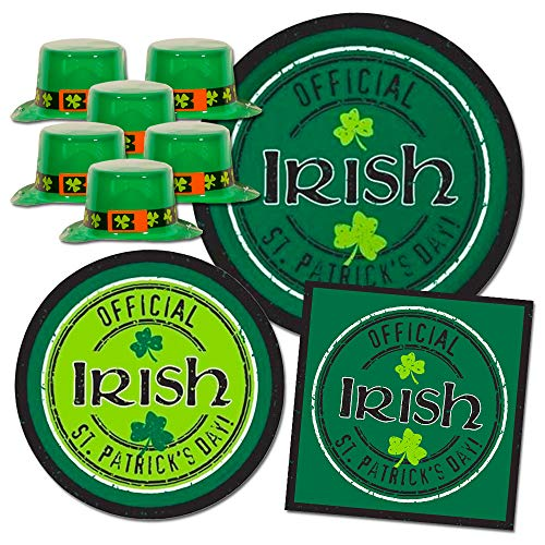 with St. Patrick's Day Napkins design