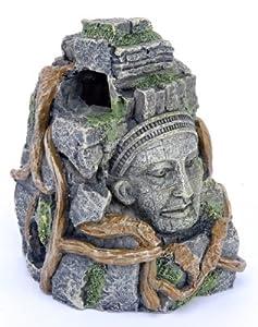 Penn Plax Cambodian Rock Faces Aquarium Figure
