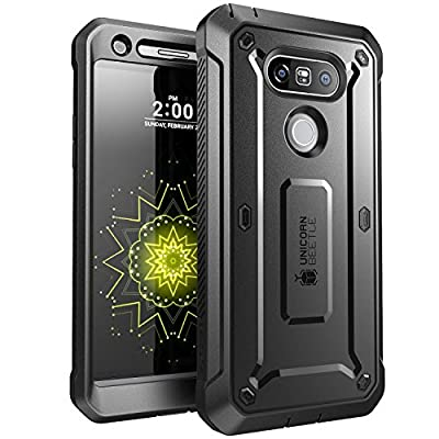 LG G5 Case, SUPCASE Full-body Rugged Holster Case with Built-in Screen Protector for LG G5 2016 Release, Unicorn Beetle PRO Series - Retail Package by SUPCASE