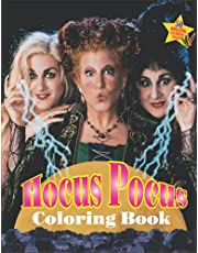 Hocus Pocus Coloring Book: A Magical Coloring Books For Adult To Boost Creativity And Have Fun