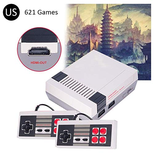 Centishop HDMI Mini TV Family Game Console HDMI 4K HD Retro Video Game Console Built-in 621 Games Gaming Player