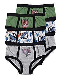 Jurassic World 2 Boys Underwear | Briefs 6-Pack Size 4T