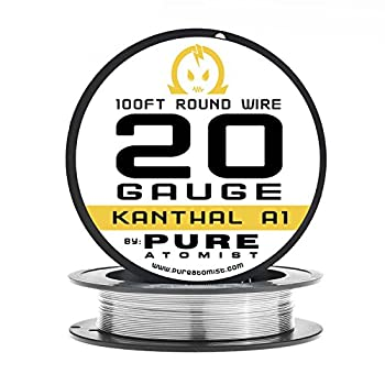 20g - PURE ATOMIST 20 Gauge kanthal A1 Wire 100' Roll - 20 AWG / 0.81mm