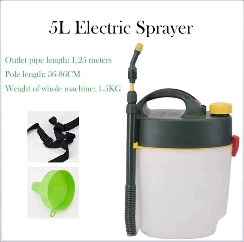d/ésinfection Brumiseur d Type Dry Battery pour la pulv/érisation de pesticides et l/école H/ôpital H/ôtel st/érilisateur,1 GJQION 5 litres Portable Mini /électrique pulv/érisateur