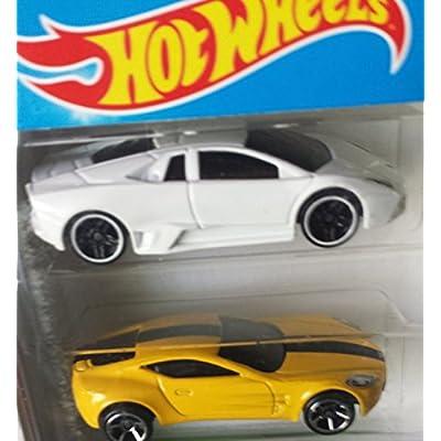 Hot Wheels, 2015 HW Workshop, HW Exotics 5-Pack [Version 1]: Toys & Games
