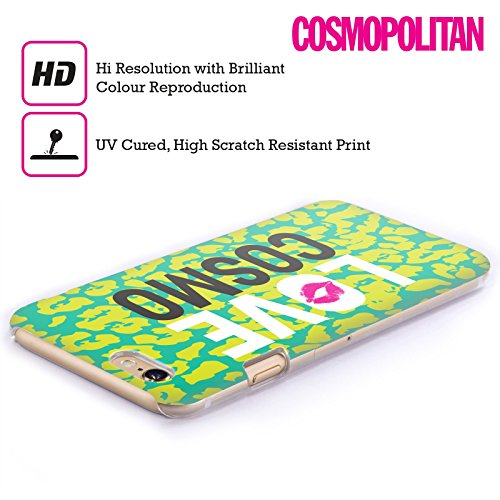 Official Cosmopolitan Cheetah Love Cosmo Hard Back Case for Apple iPhone 6 Plus / 6s Plus