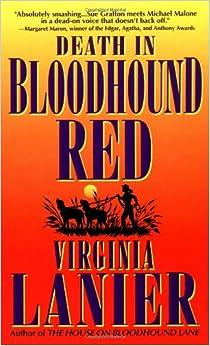 Death in Bloodhound Red (Jo Beth Sidden, No. 1)