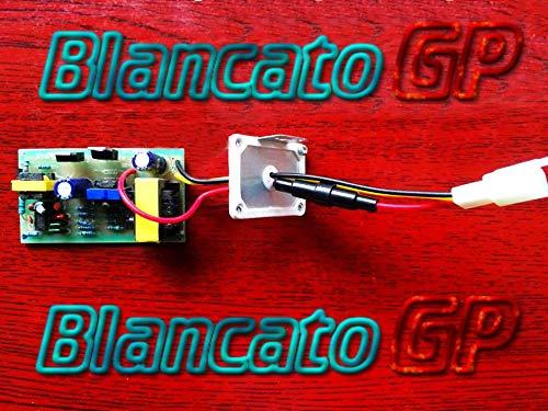 BlancatoGP Convertidor DC//DC Entrada 36V 72V Salida 12V 10A para Veh/ículos Bici El/éctricos