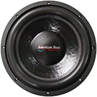 American Bass XFL1244 12 Dual 4 Ohm Competition Car Stereo Subwoofer
