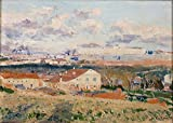 High quality Prints on Canvas Without Stretch and Without Frame ,Beruete y Moret Aureliano de La Casa del Sordo (Madrid) 1907 , is the best gift for your relatives, or girl friend and boy friend. That is also for Bar, Basement, Bathroom, Bedr...