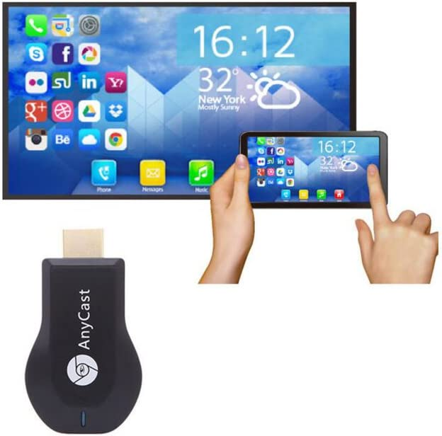 AnyCast Airplay 1080P Wireless WiFi Display TV Dongle Receiver HDMI TV Stick DLNA Miracast for Android Smart Phones Tablet PC AnyCast Wireless WiFi Display Dongle