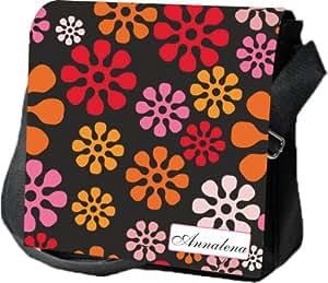 Bolso bandolera   Bolso bandolera   Bolso de mano   Regalo personalizado   Flores   Flores   Hippie   Retro