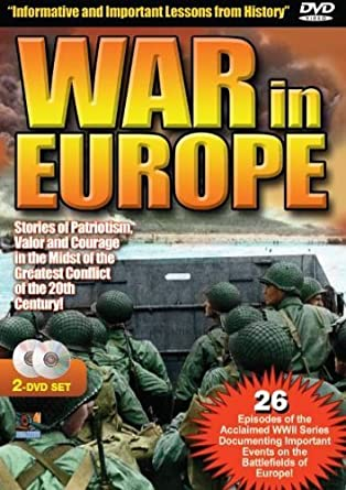 Amazon com: War In Europe - A Complete Chronicle of