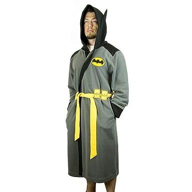 DC Comics Batman Hooded Robe with Belt  5fd5f8627