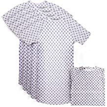 Utopia Care Hospital Gown - 6 Pack Patient Gowns Fits All Sizes Up To 2XL - Back Tie