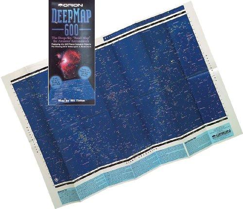 Orion 4150 DeepMap 600 Folding Star Chart (Deep Map)