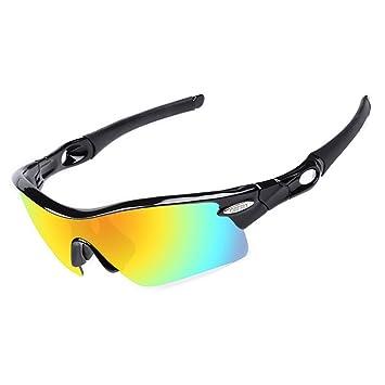 Amazon.com: OBERLY Gafas de sol polarizadas de béisbol ...