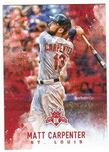 119 Matt - 2017 Panini Diamond Kings SP #119 Matt Carpenter St. Louis Cardinals Baseball Card