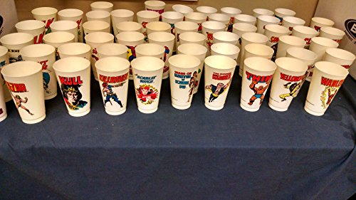 1975-complete-set-superhero-slurpee-cup-marvel-all-60-excellent-to-near-mint